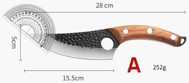 Huusk-knivens egenskaper